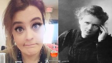 """""""Zalotne rzęsy"""" Marii Skłodowskiej-Curie. Kobiety krytykują filtr na Snapchacie"""