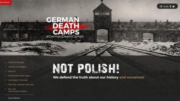 """""""German Death Camps - Not Polish"""". Resort sprawiedliwości uruchomił stronę w związku z ustawą o IPN"""