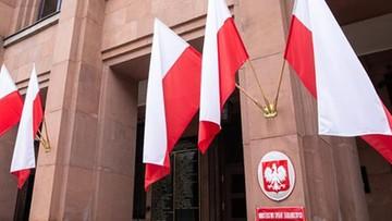 Rosyjski senator zarzucił Polsce blokowanie pomocy do Włoch. Ambasador wezwany przez MSZ