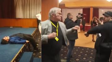 Pijaństwo i atak na dziennikarzy. Reakcje po skandalu podczas wieczoru wyborczego Milosza Zemana
