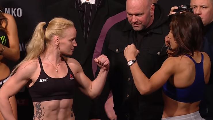 UFC 231: Jędrzejczyk i  Shevchenko po face to face. Nie było złej krwi