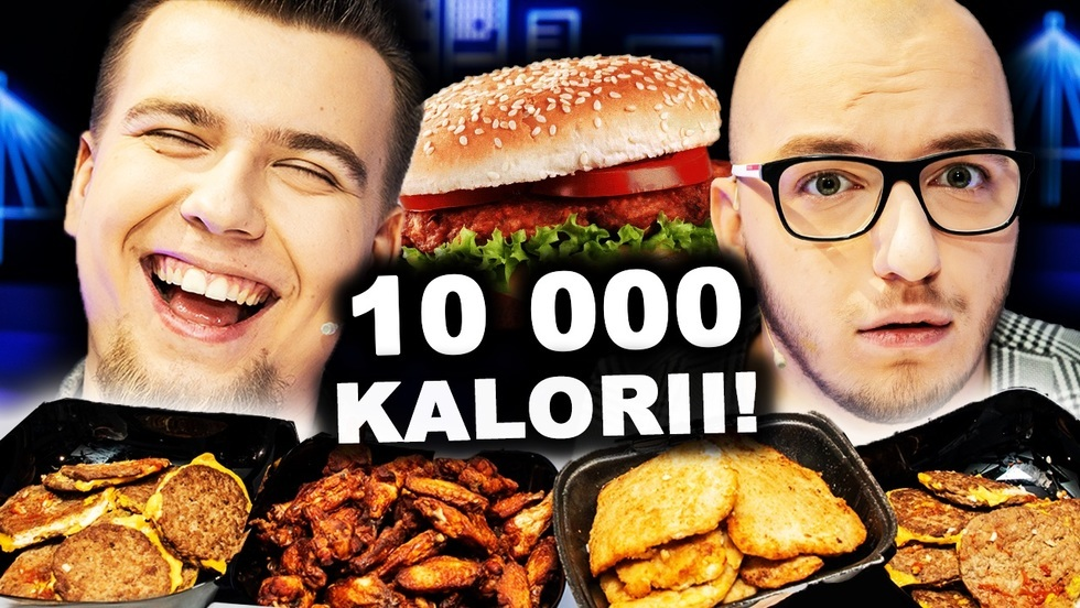 Jemy 10 00 kalorii z Mandziem