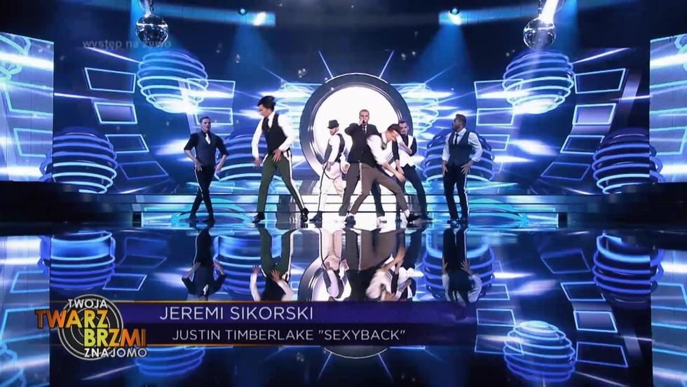 """Sexy Back"": Jeremi Sikorski jako Justin Timberlake!"