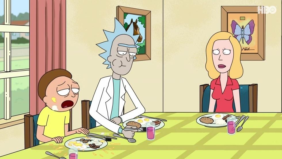 Rick i Morty I, odc. 1