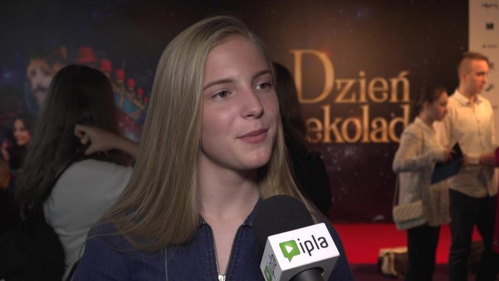 """Julia Odzimek o filmie """"Dzień czekolady"""""""