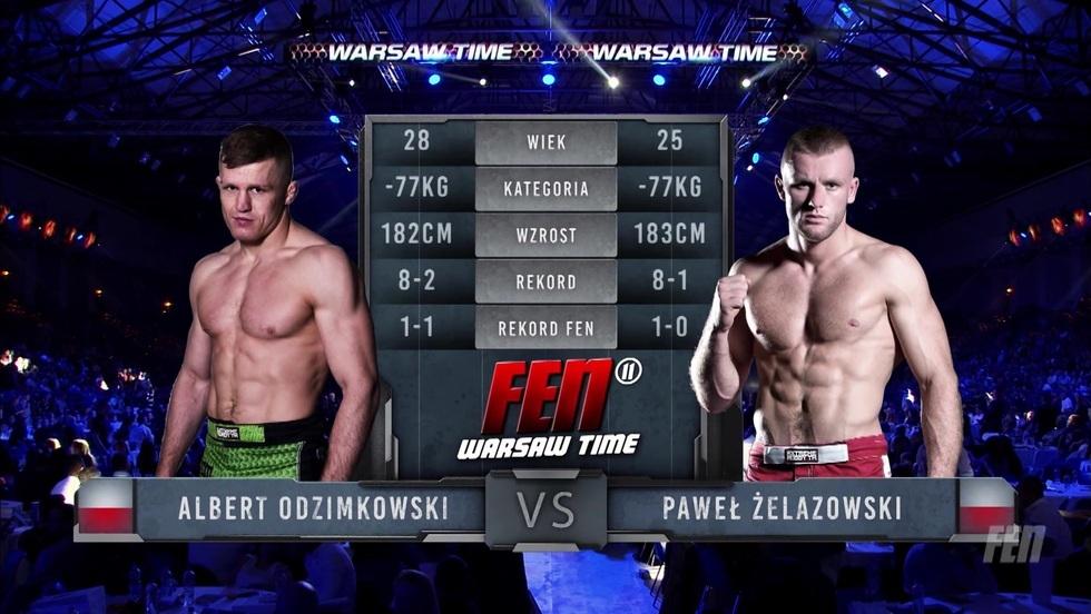 Albert Odzimkowski - Paweł Żelazowski