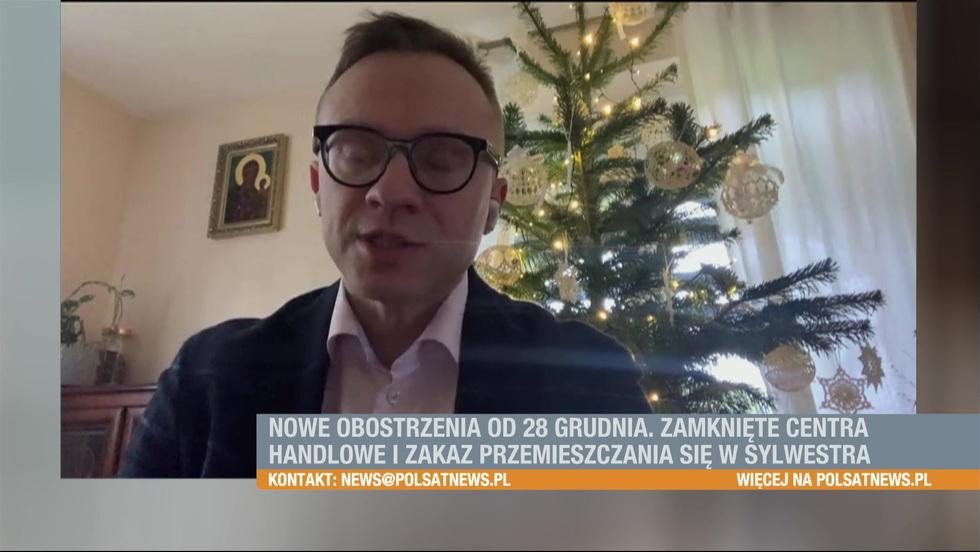 Śniadanie w Polsat News - 20.12.2020