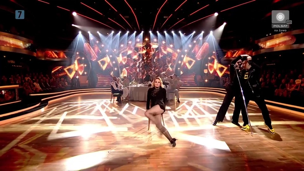 Monika Miller tańczyła jak szalona!