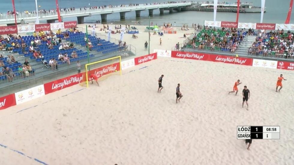 Piłka nożna plażowa - I półfinał mężczyzn