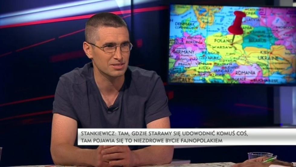 Polska w kawałkach Grzegorza Jankowskiego - Piotr Stankiewicz