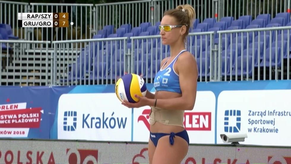 Magdalena Rapacz-Matras/Sandra Szychowska - Jagoda Gruszczyńska/Aleksandra Gromadowska