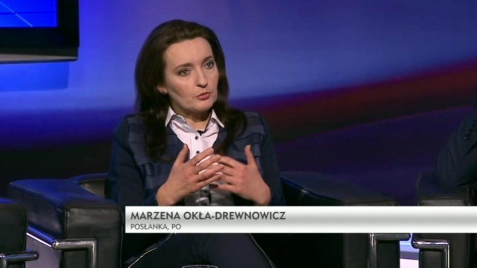 Salon Polityczny - Marzena Okła-Drewnowicz, Mirosław Suchoń, Jan Mosiński
